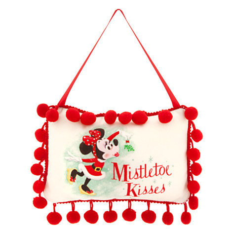 z Minnie Mouse and Tinker Bell Holiday Door Knocker