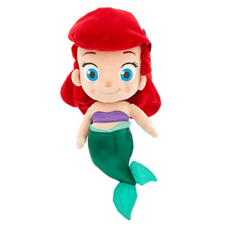 z Toddler Ariel Plush Doll - Small - 14''