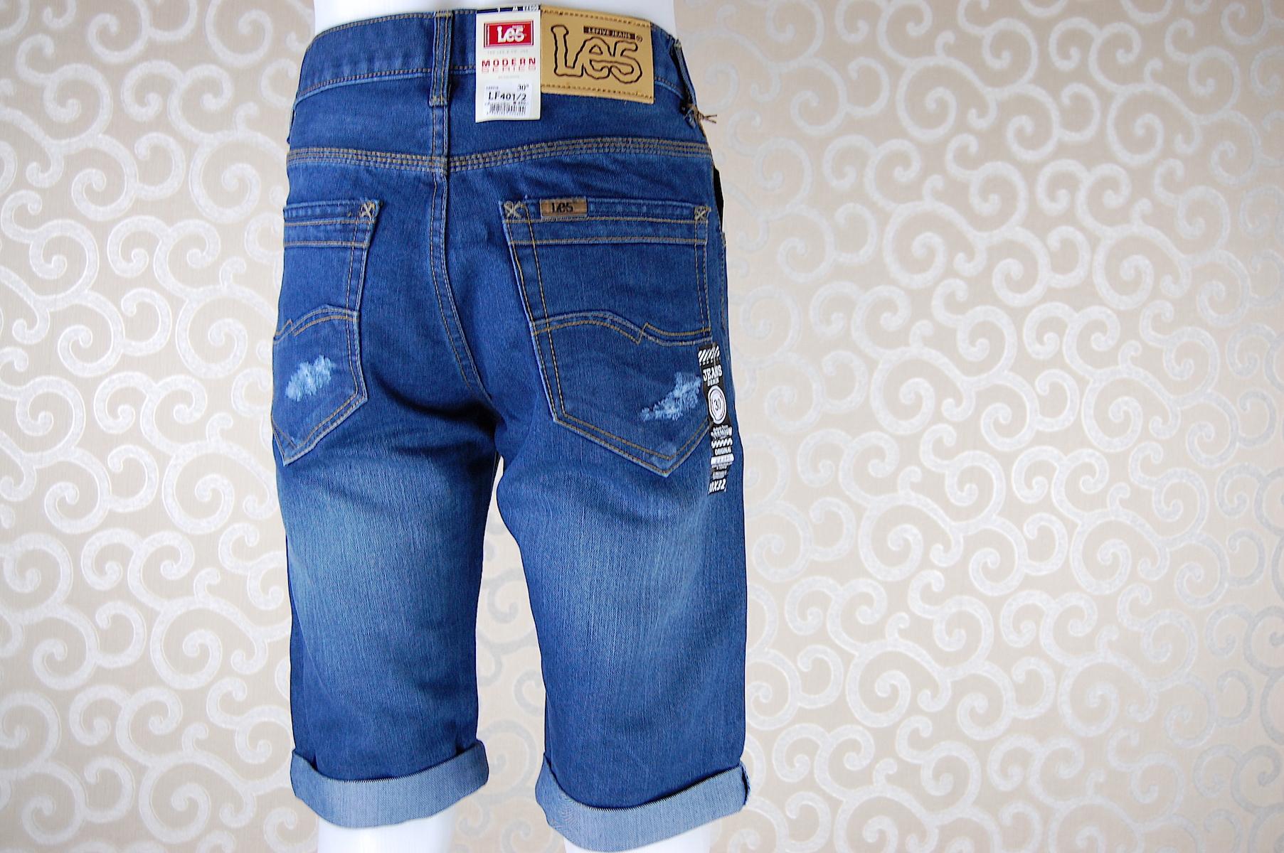 กางเกงยีนส์ขาสั้น LF401-2--4