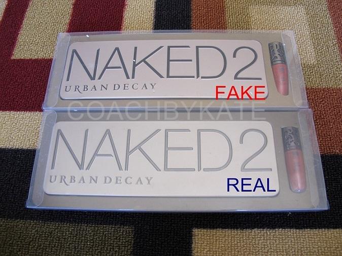 เปรียบเทียบ Naked2 ของแท้ และของปลอม