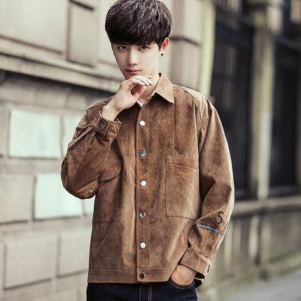 เสื้อแจ็คเก็ตแขนยาวเกาหลี แนวย้อนยุค ทรงยุโรป มี3สี