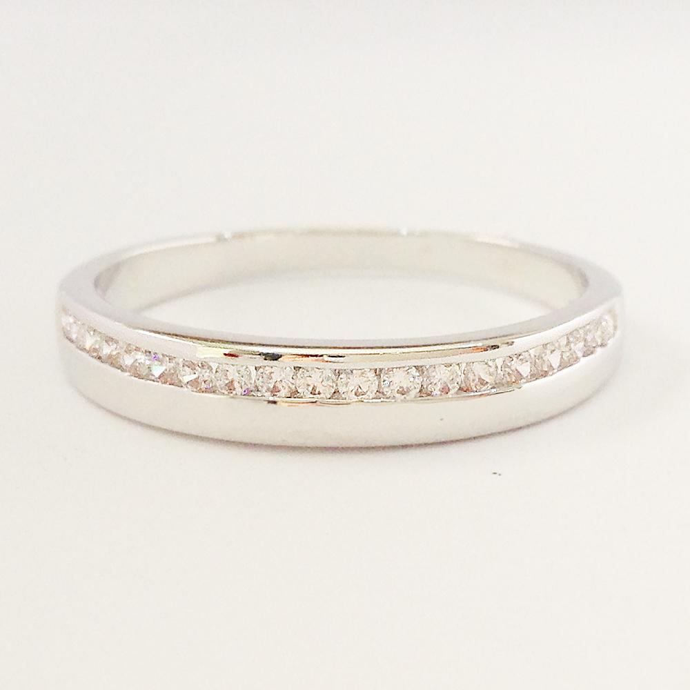 แหวนเพชร CZ รหัส R1505RD size 55