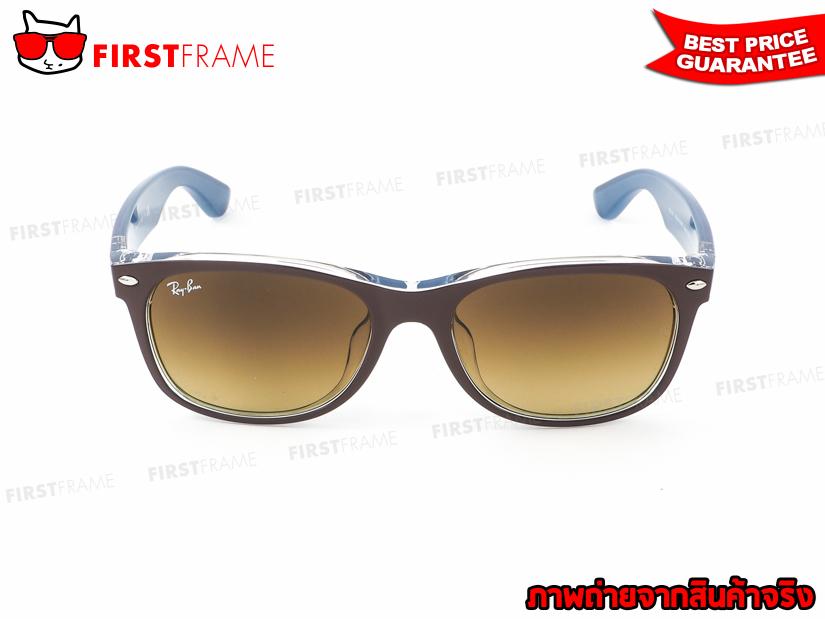 แว่นกันแดด RayBan RB2132F 6189/85 NEW WAYFARER2