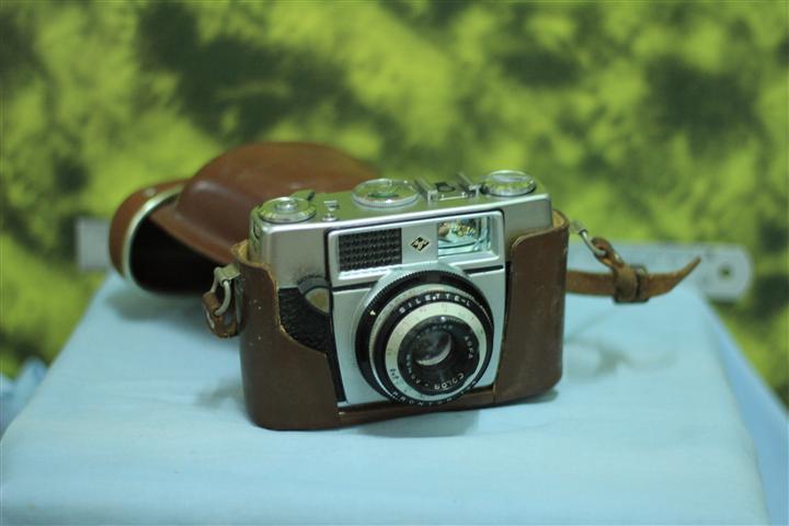 T0698 กล้องถ่ายรูปเยอรมันโบราณ AGFA Agnar ส่ง EMS ฟรี