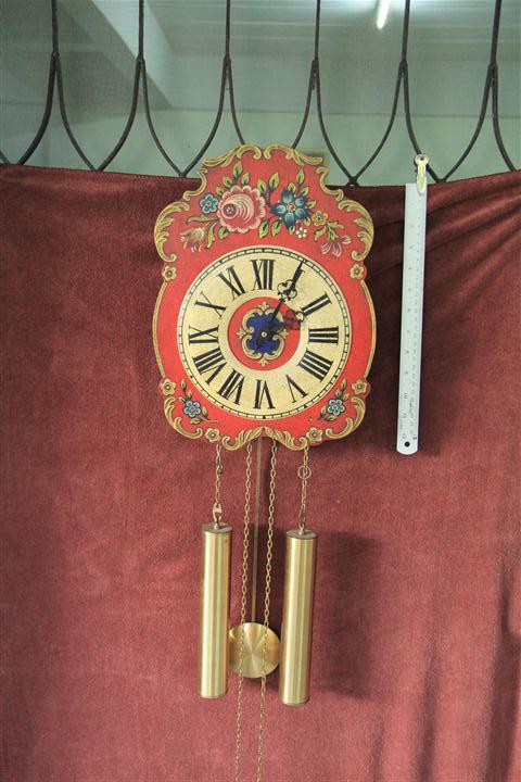 T0732 นาฬิกาแขวน Backforest Germany สวยมากๆ ตีทุกชั่วโมง และ ครึ่งชั่วโมง เดินดีตีดี ส่ง EMS