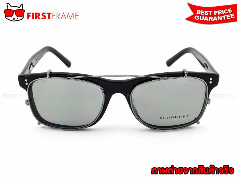 BURBERRY BE2196F 3001 Clip On Polarized 4