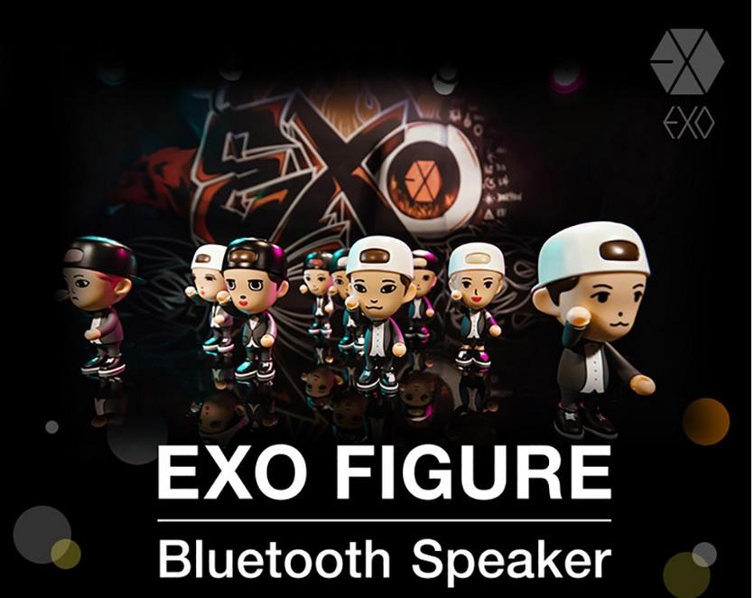 EXO - Figure Bluetooth Speaker (ระบุmember )