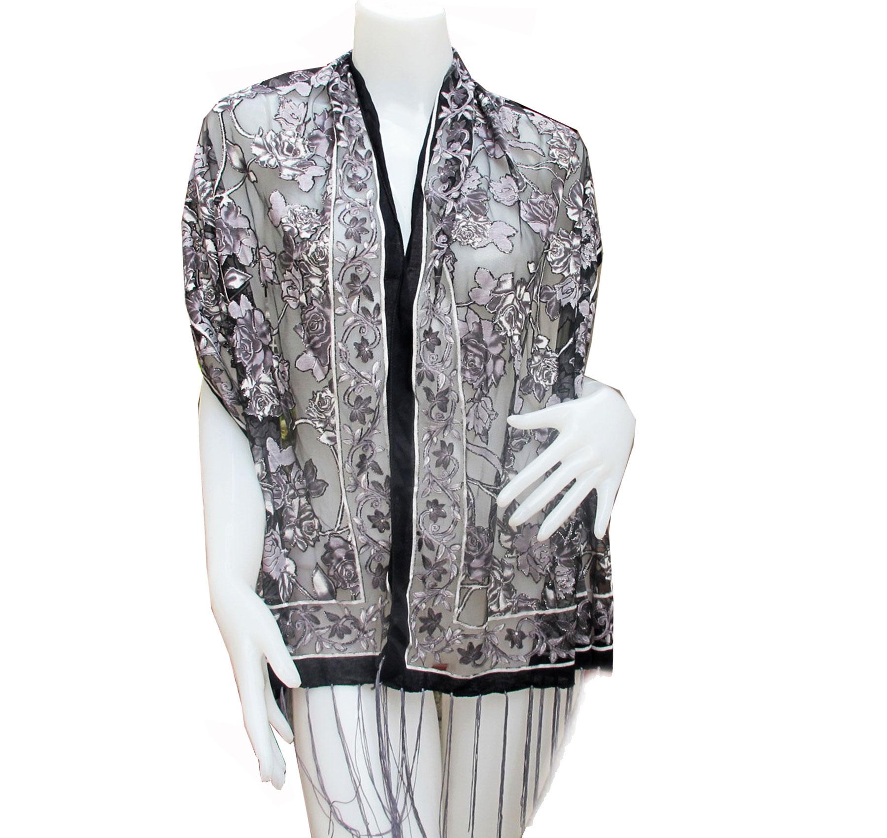 ผ้าคลุ่มไหลแบบ Classic Frence Flowerไตล์ฝรั่งเศษ