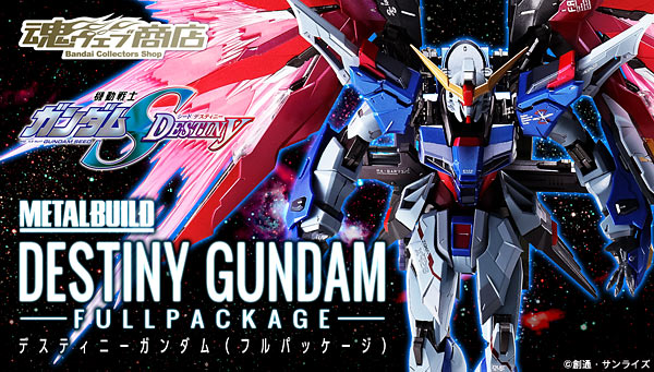 METAL BUILD Destiny Gundam Full Package