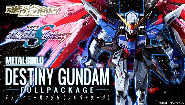 METAL BUILD Destiny Gundam Full Package