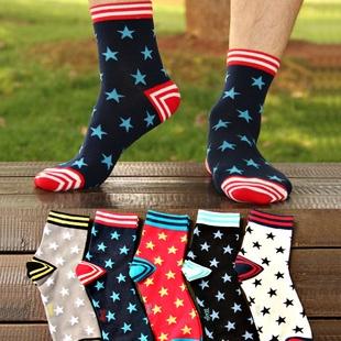S136**พร้อมส่ง** (ปลีก+ส่ง) ถุงเท้าแฟชั่นเกาหลี ข้อยาว เนื้อดี งานนำเข้า(Made in china)