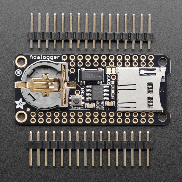 Adalogger FeatherWing - RTC + SD Add-on For All Feather Boards (แท้จาก Adafruit USA)