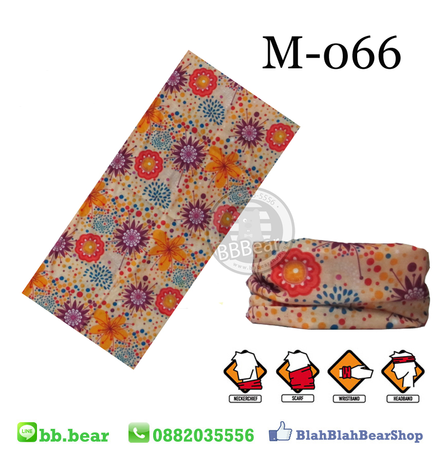 ผ้าบัฟ - M-066