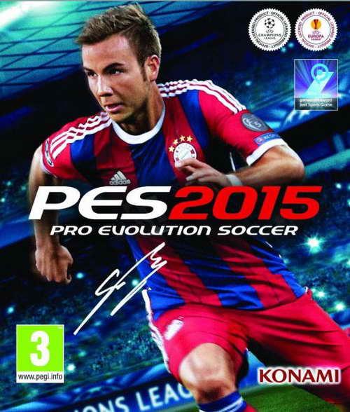 Pro Evolution Soccer 2015 ( 4 DVD )