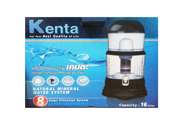 เครื่องกรองน้ำแร่ kenta 8 ขั้นตอน