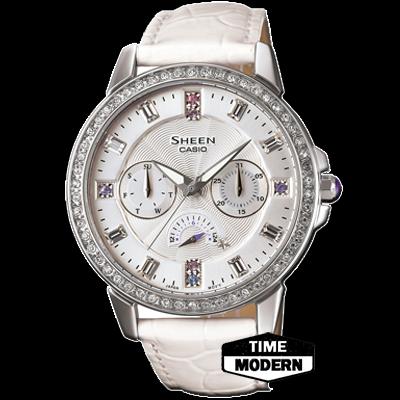 นาฬิกา Casio Sheen Muti-hand รุ่น SHE-3023L-7ADR