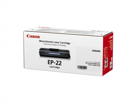 Canon EP-22 ตลับหมึกโทนเนอร์ สีดำ Black Original Toner Cartridge