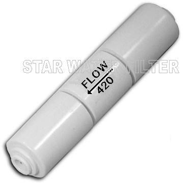 RO Flow Restrictor 420 S Flow จำกัดอัตราน้ำทิ้ง 420 ml/min