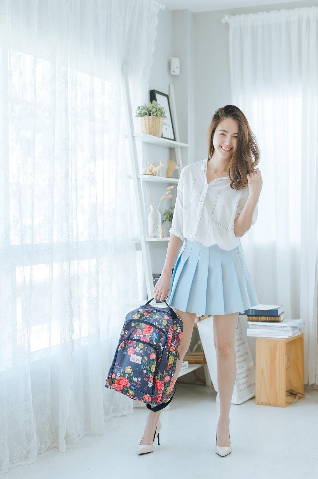 กระเป๋าเป้ ใหญ่ ใส่เสื้อผ้าได้ 5-6 ชุด