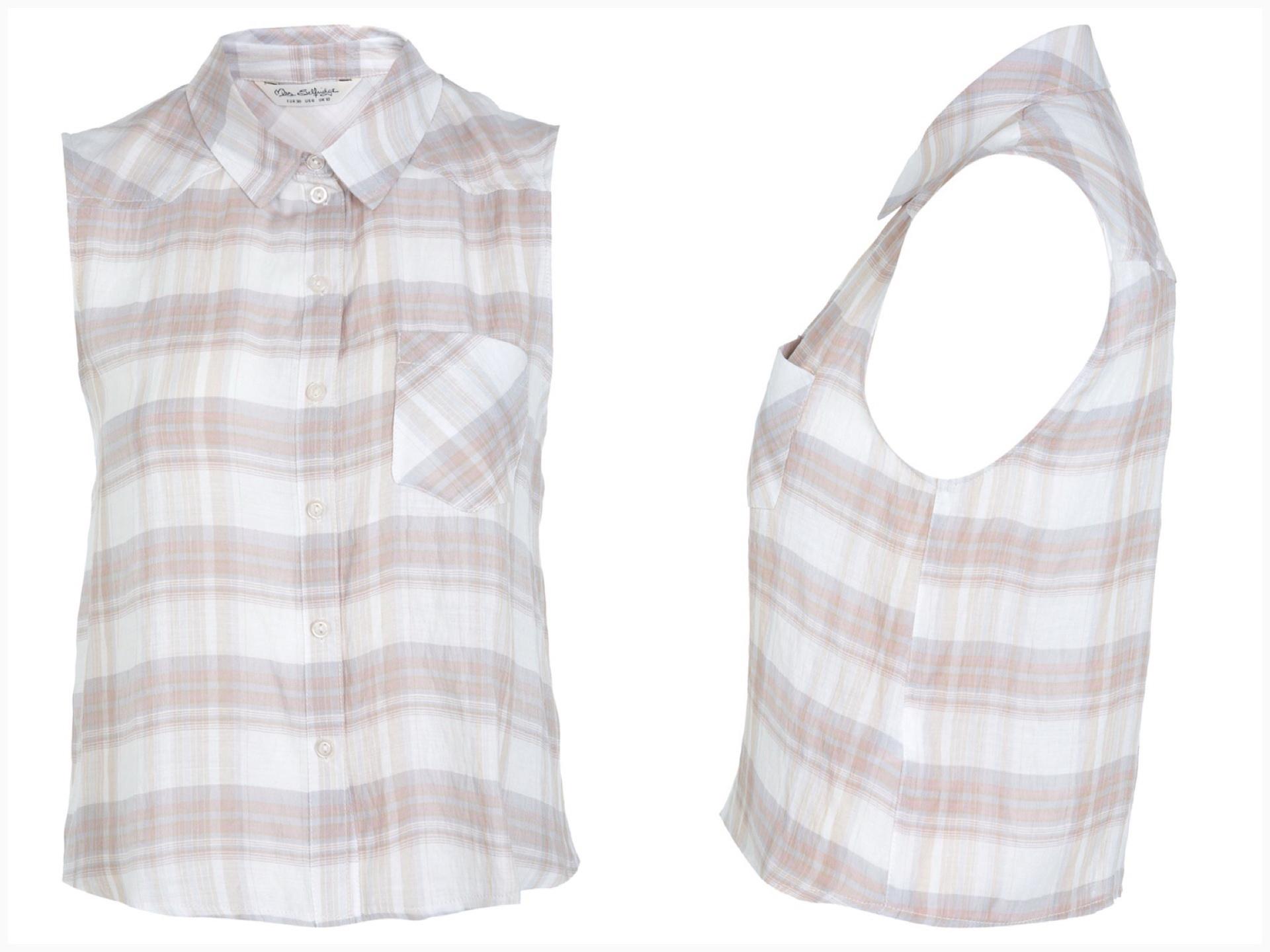Miss selffirdge shirt Top Size Uk8=1 UK10=1