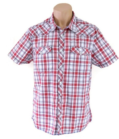 Burton Red Checked Shirt Size L