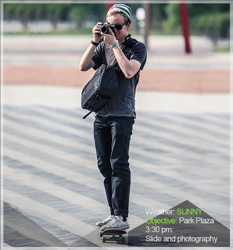 กระเป๋ากล้อง TUBU 6097A sling
